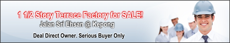 Sri Ehsan Factory for Sale @ Kepong